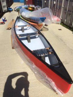 riber 16 canoes